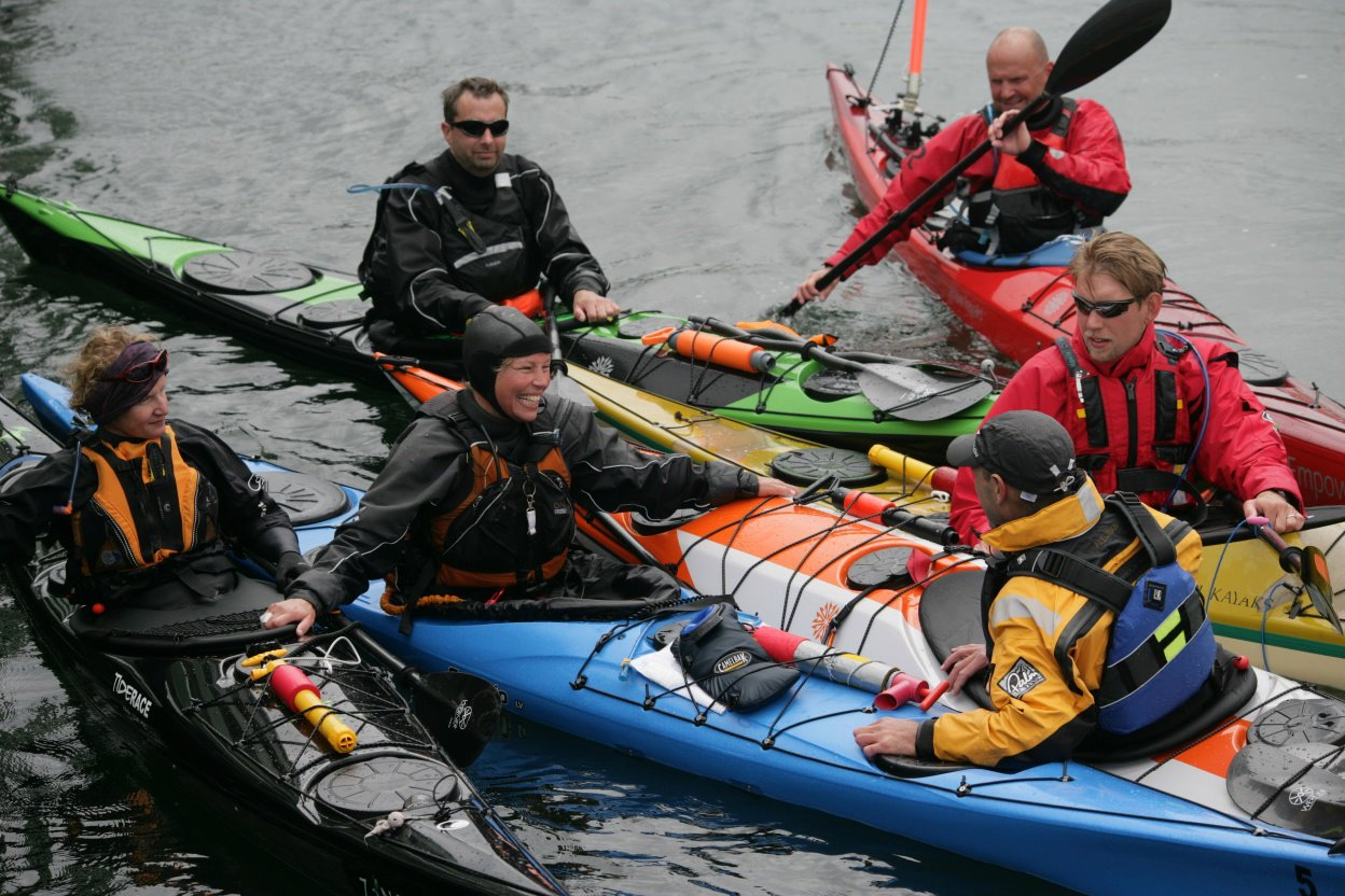 essential sea kayak festival BCU coaching week 2