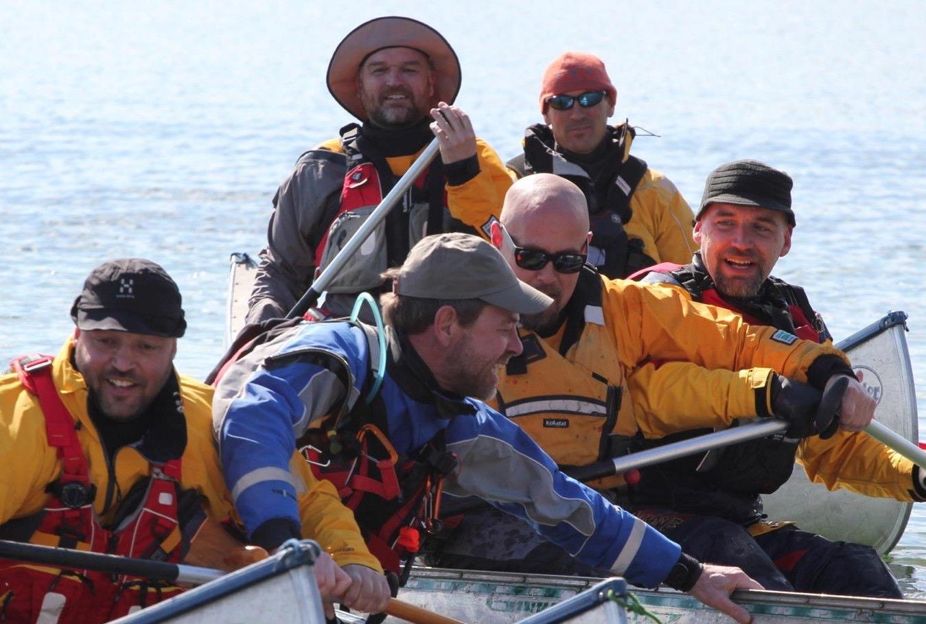 team canoe